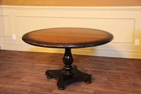 architecture 54 round blonde pine center table kitchen or dining regarding 30 inch pedestal decor 3