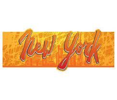 Wandtattoo Xxl New York Skyline Banner Mit 3d Effekt Spruch Streifen Sprüche Wand Aufkleber Wohnzimmer Sticker 11z066