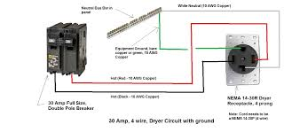 i am installing a 3 prong 30 amp dryer outlet using a flush mount 4 Wire Dryer Cord Installation 65b0a6dd 696d 4c25 8442 3d1ee738d5ef_4 wire dryer circuit jpg