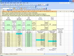 Pricing Model Excel Template Pricing Model Template In Excel Excel Price Sheet Template