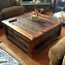 rustic reclaimed wood coffee table square reclaimed wood coffee table s yonder years rustic reclaimed wood