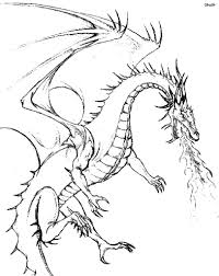 Printable Coloring Pages Licious Dragon Coloring Pages For Adults