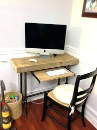 computer desk small spaces. Narrow Desk With Storage Gorgeous Laptop Computer Desks For Home Innovative Small Compact Long Spaces U