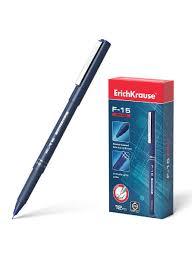 <b>Ручка капиллярная ErichKrause</b> F-15, цвет чернил синий (в ...