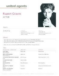 Resume Template For Actors Acting Resume Template Inspirational