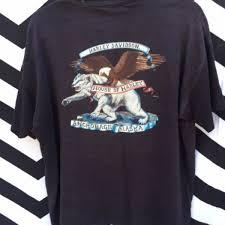 rare 1987 vintage harley davidson t shirt house of harley