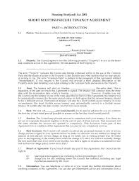 Scotland Short Scottish Secure Tenancy Agreement Legal Forms And