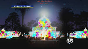 Holiday Lights At Sf Conservatory San Franciscos Conservatory Of Flowers May Light Up With Flower Power