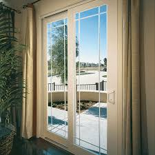 vinyl sliding glass doors with grids