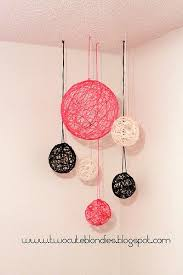 Diy String Ball Decorations Awesome Hanging Ball Decorations Mesmerizing Diy String Ball Home Decor