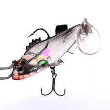 New <b>1PCS sea fishing</b> bag lead fish <b>road</b> sub bait 15.7g 7.6cm three ...