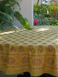 green tablecloth indian tablecloth asian tablecloth 90 round tablecloth 70 round tablecloths saffron marigold