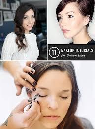 11 make up tutorials for brown eyes