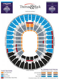 Thomas Mack Arena Seating Chart Nfr Thomas And Mack Seating Chart Seating Chart