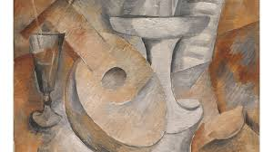 georges braque mandolin and fruit dish paris early 1909 oil on canvas