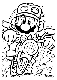 Picture of dirt bike coloring page to color, print and download for free along with bunch of favorite dirt bike coloring page for kids. Printable Motorcycle Coloring Pages Madalenoformaryland