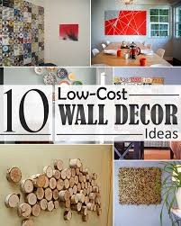 Small Picture 10 Low Cost Wall Decor Ideas that Completely Transform The