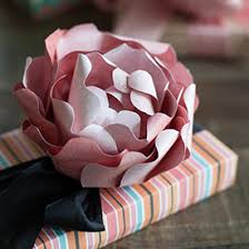 Paper Flower Print Out Diy Paper Peony