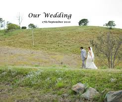 Our Wedding by Tania Keenan   Blurb Books