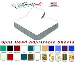 adjustable bed sheets king.  King Adjustable Beds King Size Split Bed Sheets Eastern Head Bedrooms Sets Full Throughout B