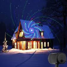 Blue Outdoor Lights Laser Christmas Lights Red Green Blue Moving Rgb 20 Patterns