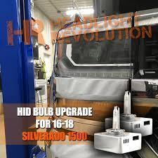Silverado Fog Light Bulb Size 2016 2018 Chevy Silverado Gmc Sierra Morimoto D5s Hid Projector Headlight Bulb Upgrade
