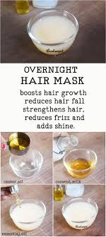 diy hair conditioning mask overnight hair conditioner to stop hair fall
