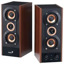 modern computer speakers. the genius hi-fi wood speaker for computers combines a classic look with modern technology. these speakers provide unique sound that you can\u0027t computer i