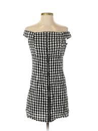 Details About I Joah Women Black Casual Dress M