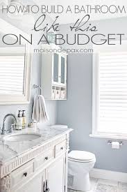 How To Remodel A Bathroom On A Budget Magnificent Great Budgeting Tips For Bathroom Remodel Maisondepax Remodeling