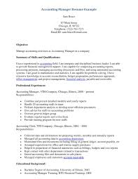 Sample Accounting Manager Resume Example Accounting Manager Resume httpwwwresumecareer 14
