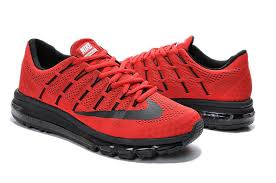 nike running shoes red 2016. nike air max 2016 mens running shoes hyper red blacks 764892-600 outlet sale - $118.99 1