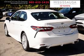 New 2018 Toyota Camry Se Auto 4 Door Car In Mississauga On J4134