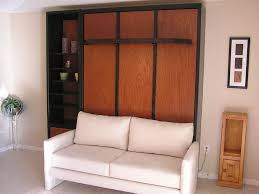 image of review murphy bed with sofa