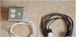 living on 12 volt solar part 3 appliances home built extension cord and power strip for 12 volt