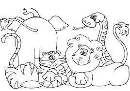 zoo animals coloring page easy animal coloring pages elegant pioneering zoo animal coloring sheets animals page