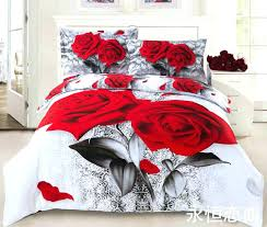 roses bedding set fascinating rose comforter set queen quality romantic in designs roses bedding set