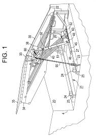 patent us6327733 mechanically actuated dock leveler patent drawing