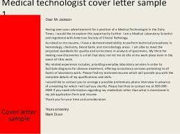 Blood Bank Technician Cover Letter Sarahepps Com