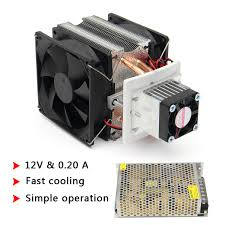 more details more detailed photos 12v diy semiconductor refrigeration thermoelectric peltier air cooling machine device
