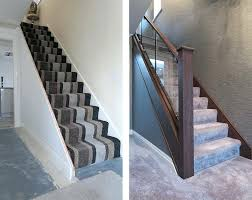 glass staircase railing cost