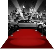 white carpet png. photographic background - star attraction new york black and white red carpet png