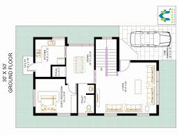 fascinating 30 50 house plans 3 bedroom new bhk floor plan for x plot fancy home