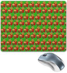 """Коврик для мышки """"Фастфуд"""" #2522258 от ZoZo - <b>Printio</b>"""