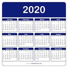 Adobe Illustrator Calendar Template 2020 In 2019 Calendar