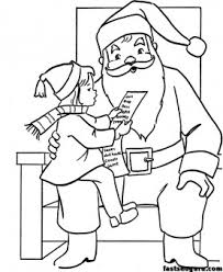 The links below will download. Wish List For Christmas Santa Coloring Pages Free Kids Coloring Pages Printable