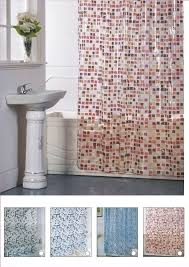 sie 42 pvc shower curtain liner with metal eyelet