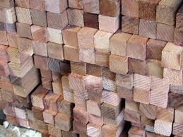 2x2 square hardwood dowels
