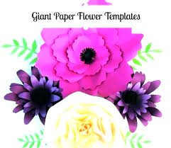 Rose Flower Template Printable A4 Flower Template To Print