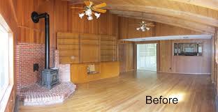 Steve Bachelet Living Room Before General Contractors In